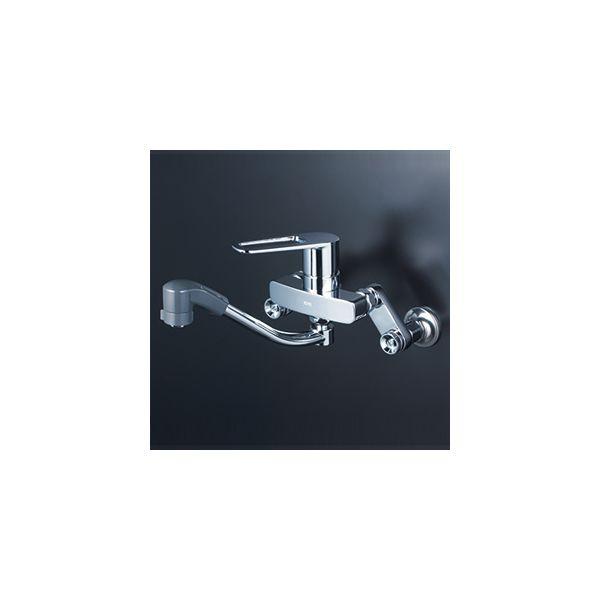 KVK 販売期間 限定のお得なタイムセール 4952490277744 高級 寒楽シングルシャワー混合栓