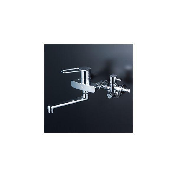 KVK 4952490277775 品質保証 店 給水給湯接続シングル混合栓