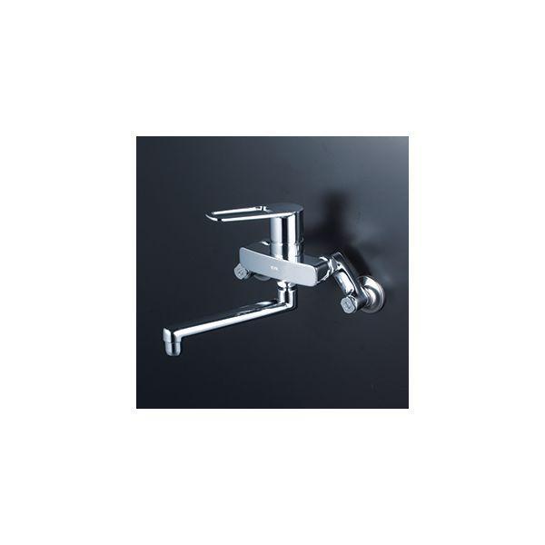驚きの値段で 保障 KVK 4952490277829 寒壁シングル混合栓
