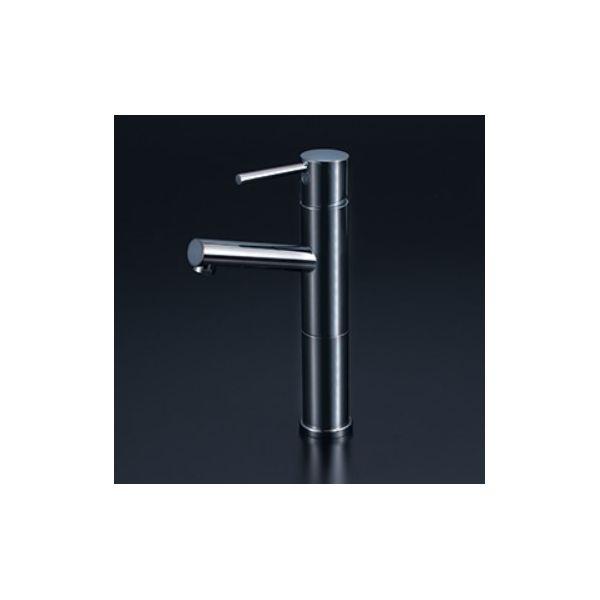 KVK 4952490278055 陶器カラー水栓 黒めっき