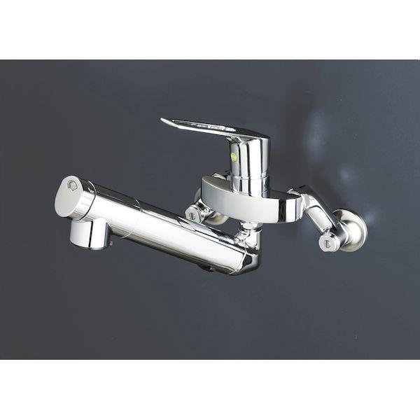 KVK[4952490802342]壁浄水器シングル混合栓eレバー