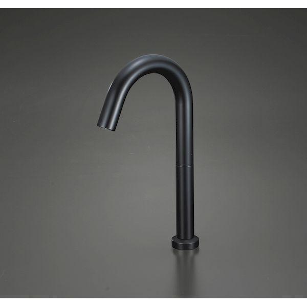 KVK 4952490802854 センサー水栓 AC100V 黒 ロング