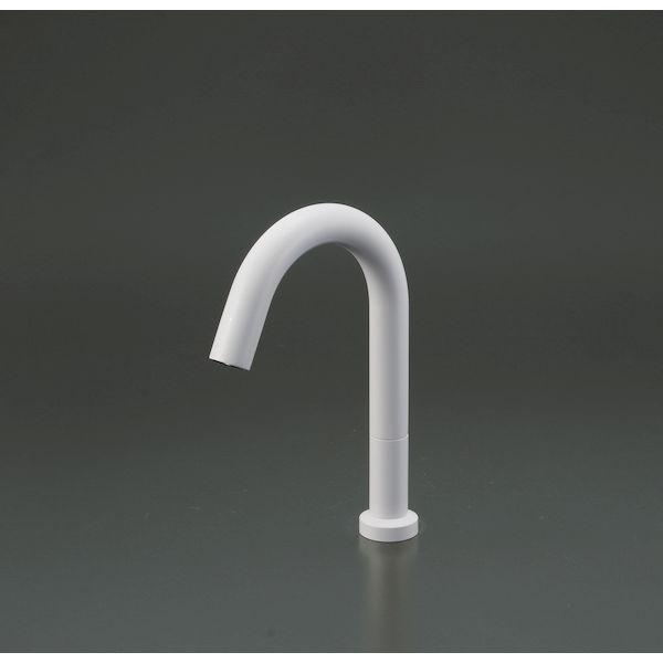 KVK 4952490802885 センサー水栓 電池 白 ロング