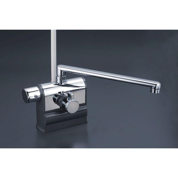 KVK 4952490803028 デッキ形サーモシャワー 左 豪華な 300 KF3008LR3 ケーブイケー デッキ形サーモスタット式シャワー 左ハンドル仕様 新作からSALEアイテム等お得な商品 満載