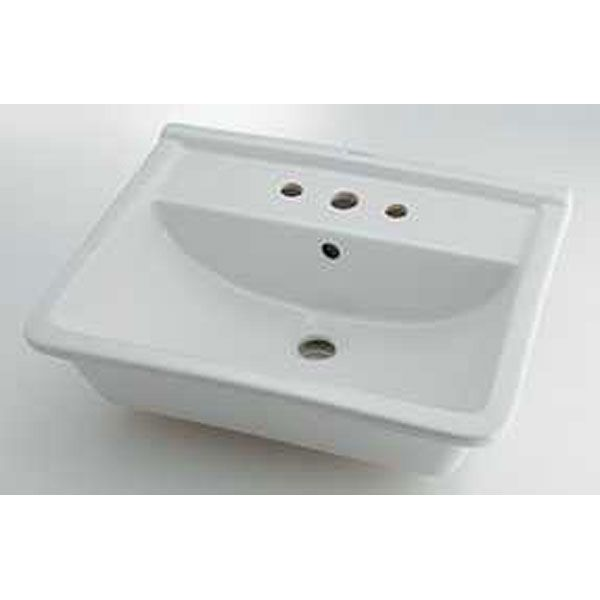 カクダイ DU-0302560030 角型洗面器 3ホール DU0302560030 カクダイ DU-0302560030 角型洗面器 3ホール DU0302560030