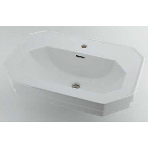 カクダイ DU-0438700000 壁掛洗面器 1ホール DU0438700000