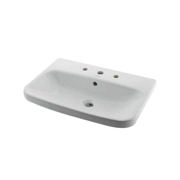 カクダイ[DU-2319650030]壁掛洗面器/3ホール DU2319650030