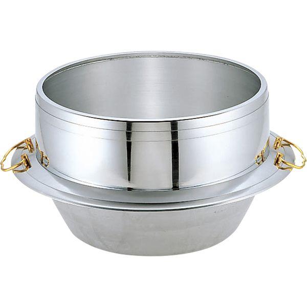 4971142212575 ウルシヤマ金属工業 アルミ キング釜 カン付30cm 3升3合