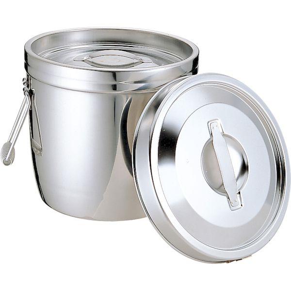 4967151010271 エムテートリマツ MT 18-8二重汁食缶 クリップ無 両手式 10L