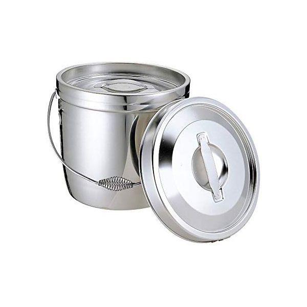 4967151010301 エムテートリマツ MT 18-8二重汁食缶 クリップ無 ツル取手 10L
