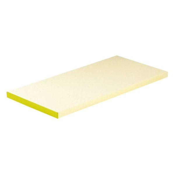 4702722400606 天領まな板 抗菌ピュアマナ板 カラー縁付 PK3A20mm イエロー