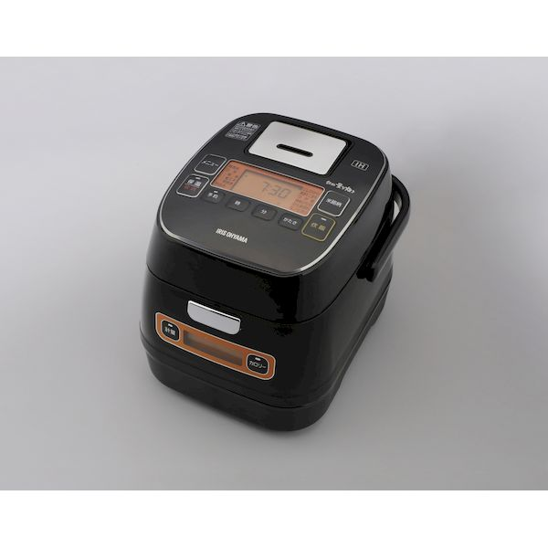 アイリスオーヤマ IRIS RC-IA31-B 米屋の旨み 銘柄量り炊き 分離式IHジャー炊飯器 3合 リニューアル RCIA31B