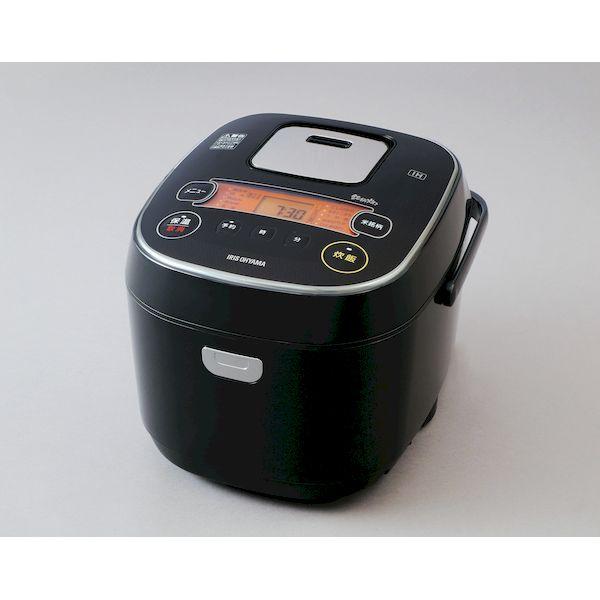 アイリスオーヤマ IRIS RC-IE10-B 米屋の旨み 銘柄炊き IHジャー炊飯器 10合 RCIE10B