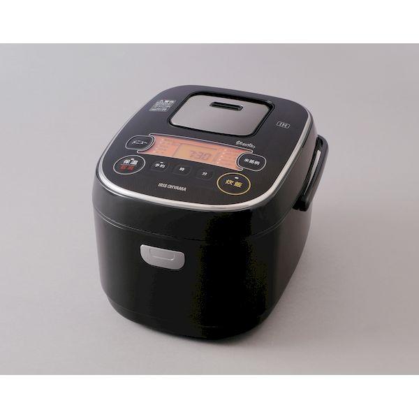 アイリスオーヤマ IRIS RC-IE50-B 米屋の旨み 銘柄炊き IHジャー炊飯器 5.5合 RCIE50B