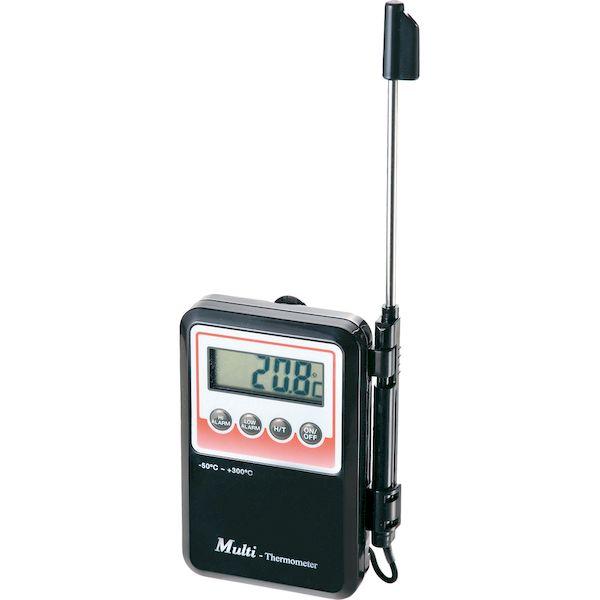 [4571209350082]ビーアンドケイ アラーム付デジタル温度計防水型 ET-9309A