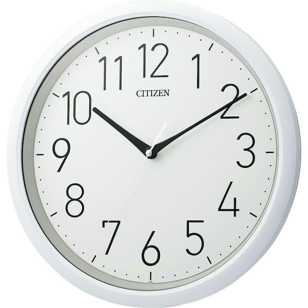[4903456196395]CITIZEN シチズン防水型掛時計 8MG799-003
