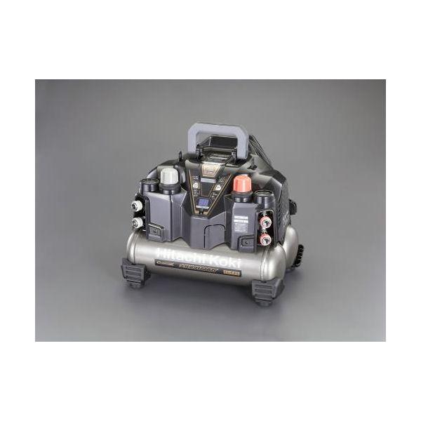 【個人宅配送不可】EA116HF-2B 直送 代引不可・他メーカー同梱不可 AC100V/ 1.2kW 高圧エアーコンプレッサー タンク 8L EA116HF2B