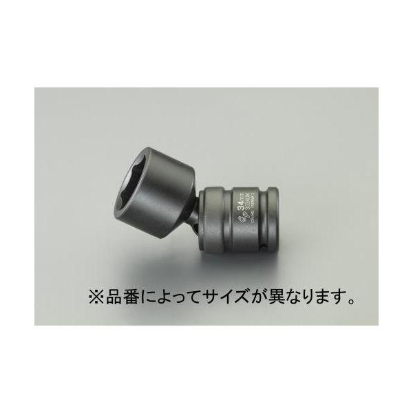 """【個人宅配送不可】EA164EM-37 直送 代引不可・他メーカー同梱不可 3/4""""DRx37mm インバクトユニバーサルソケット EA164EM37"""