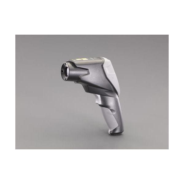【個人宅配送不可】 エスコEA701X-21 直送 代引不可・他メーカー同梱不可 放射温度計 4点レーザー/気体温湿度センサー付 EA701X21