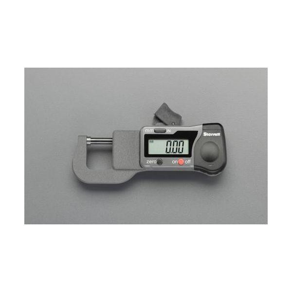 【個人宅配送不可】EA725EF-20 直送 代引不可・他メーカー同梱不可 0- 12.5mm デジタルマイクロメーター EA725EF20