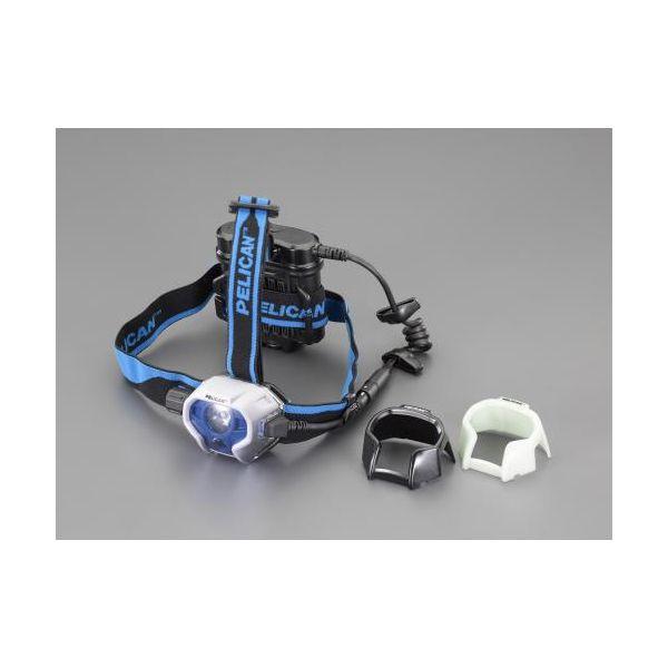 【個人宅配送不可】EA758WB-16 直送 代引不可・他メーカー同梱不可 単3x4本 ヘッドライト LED EA758WB16