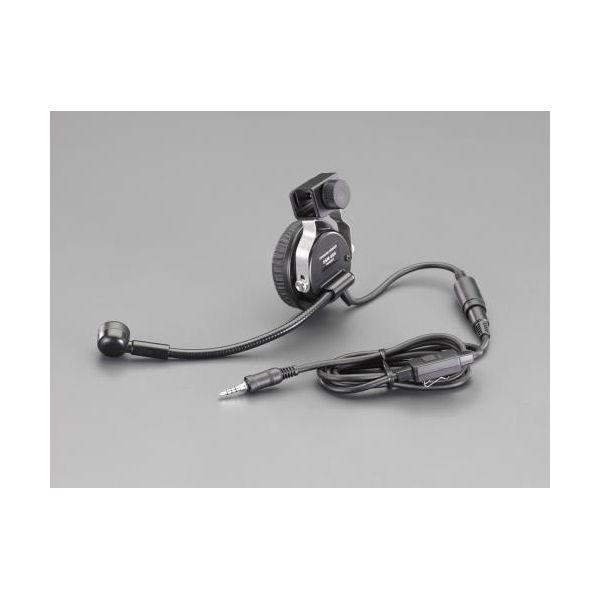 【個人宅配送不可】 エスコEA790MR-11 直送 代引不可・他メーカー同梱不可 ヘッドセット EA790MR11