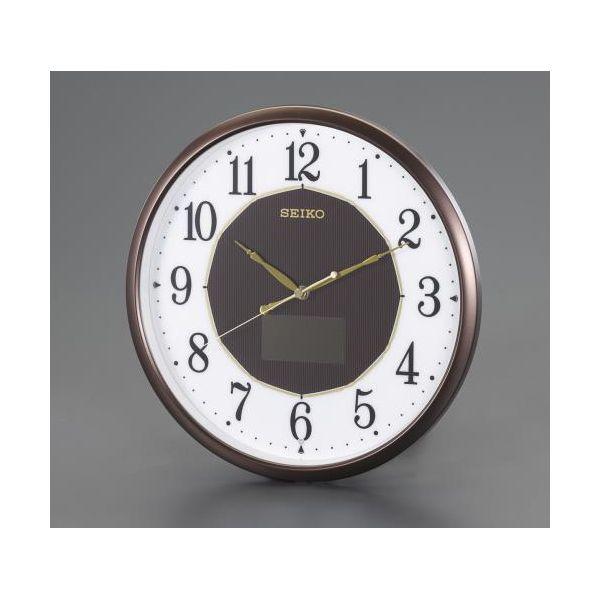 【ポイント最大29倍 3月25日限定 要エントリー】【個人宅配送不可】EA798CC-127 直送 代引不可・他メーカー同梱不可 φ325mm 電波 掛時計・ソーラー電源 EA798CC127