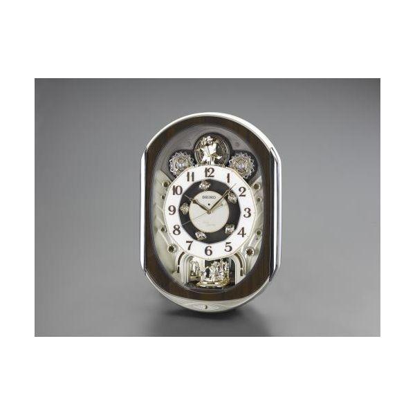 【個人宅配送不可】EA798CC-84 直送 代引不可・他メーカー同梱不可 465x337x 99mm 電波 からくり掛時計 EA798CC84