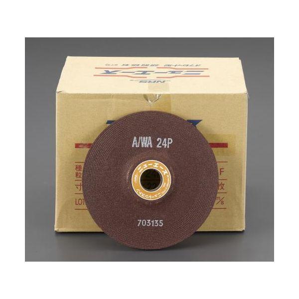 【個人宅配送不可】 エスコEA809YD-224 直送 代引不可・他メーカー同梱不可 150x6mm/A/WA24P オフセット型砥石 25枚 EA809YD224