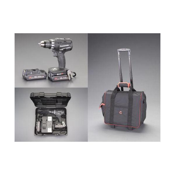 【当店一番人気】 EA813PB11S:測定器・工具のイーデンキ V 充電式 直送 ・他メーカー同梱 18 ドライバードリルセット 【個人宅配送】EA813PB-11S DC-DIY・工具