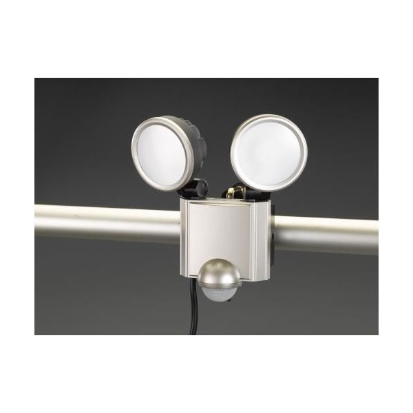 【個人宅配送不可】EA864CB-187 直送 代引不可・他メーカー同梱不可 AC100V/20.0W LEDセンサーライト EA864CB187