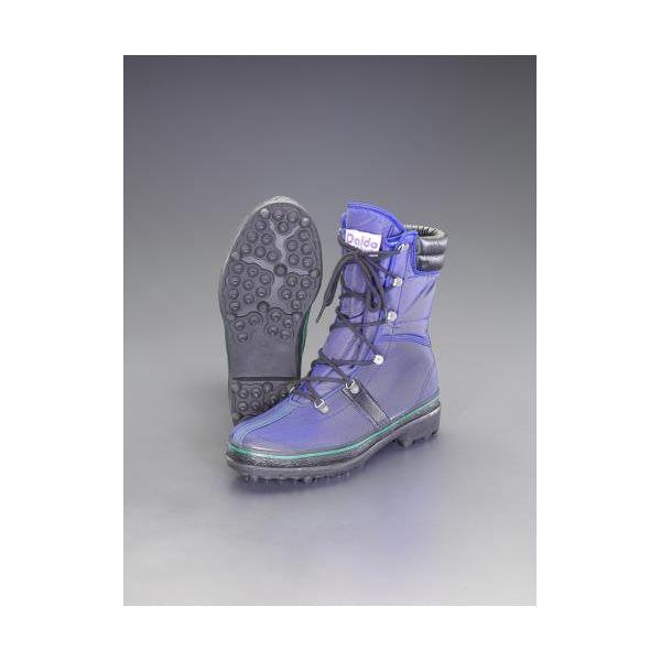 【個人宅配送不可】 エスコEA910MD-28 直送 代引不可・他メーカー同梱不可 28.0cm 耐久長靴 スパイク底 EA910MD28