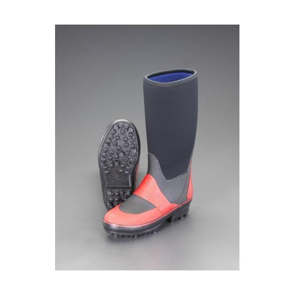 【個人宅配送不可】EA910ME-26 直送 代引不可・他メーカー同梱不可 26.0cm 防寒長靴 スパイク底 EA910ME26