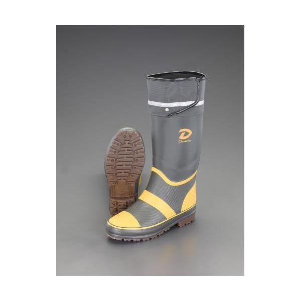 【個人宅配送不可】 エスコEA910MM-25 直送 代引不可・他メーカー同梱不可 25.0cm 長靴 軽量 EA910MM25