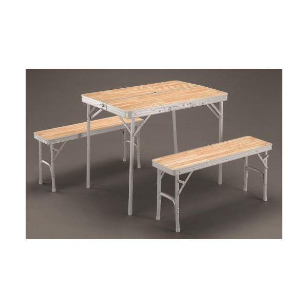 【個人宅配送不可】 エスコEA913YA-18B 直送 代引不可・他メーカー同梱不可 900x650x700/400mm テーブル・チェアーセット EA913YA18B