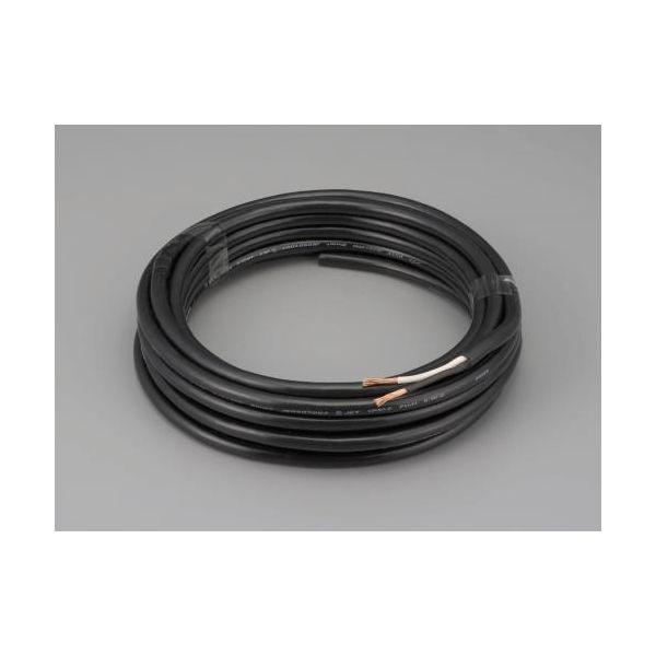 【個人宅配送不可】 エスコEA940AX-5 直送 代引不可・他メーカー同梱不可 0.75mm2x50m/2芯 2種EPゴム キャブタイヤケーブル EA940AX5
