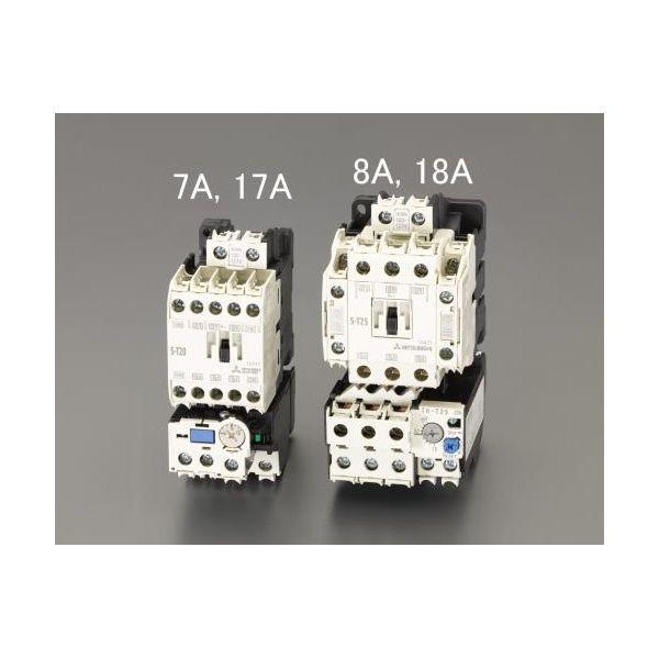 【個人宅配送不可】EA940MV-18A 直送 代引不可・他メーカー同梱不可 200V/200V・5.5kW 電磁開閉器 非可逆 EA940MV18A