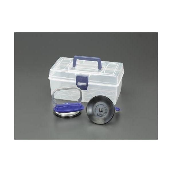 【個人宅配送不可】 エスコEA950SC-125 直送 代引不可・他メーカー同梱不可 25kg サクションリフターセット EA950SC125