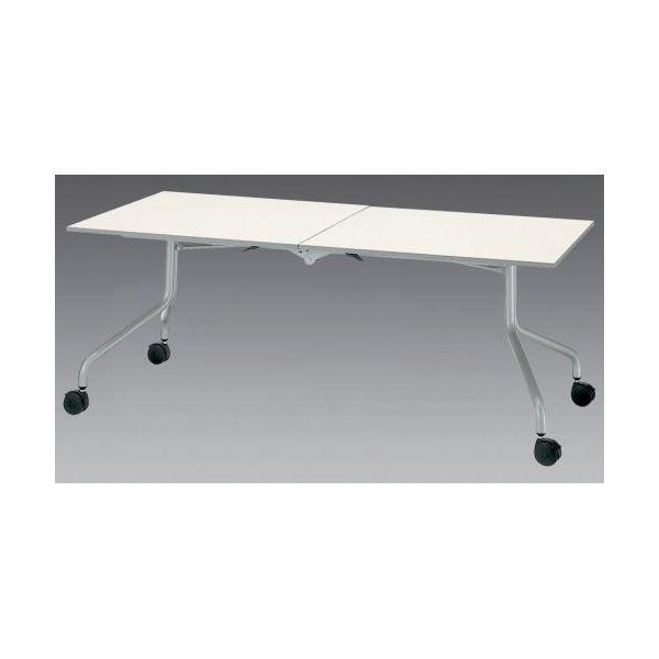 【個人宅配送不可】 エスコEA954EE-82 直送 代引不可・他メーカー同梱不可 1800x600x700mm テーブル 折畳式 EA954EE82
