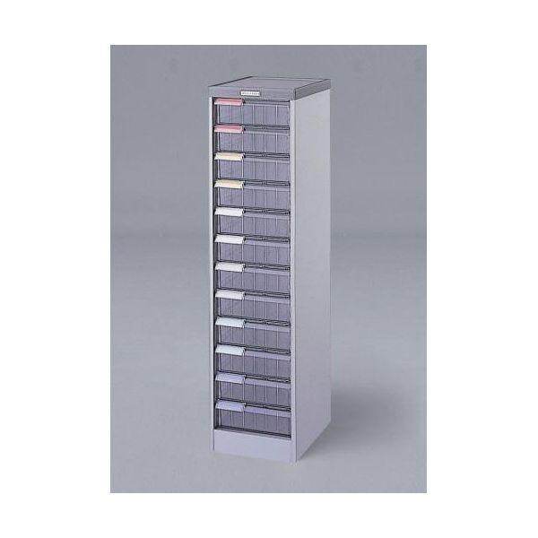 【個人宅配送不可】EA954FD-21 直送 代引不可・他メーカー同梱不可 300x370x1190mm 引出し式収納ケース 12段 EA954FD21