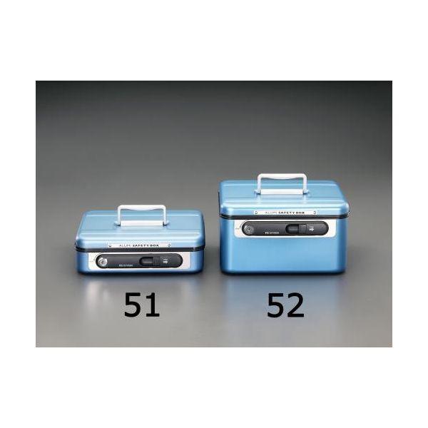 【個人宅配送不可】EA961KA-52 直送 代引不可・他メーカー同梱不可 270x215x152mm 手提げ金庫 EA961KA52