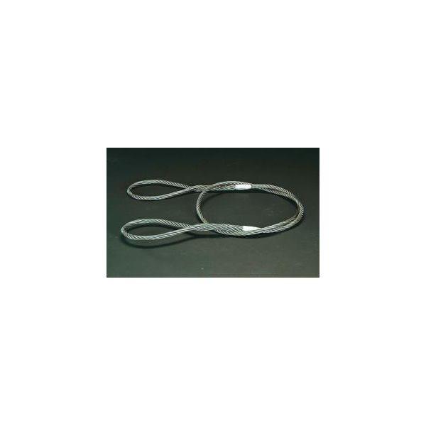 EA981WL13 【個人宅配送不可】 ワイヤースリング 代引不可・他メーカー同梱不可 26mmx2.0m 直送 エスコEA981WL-13
