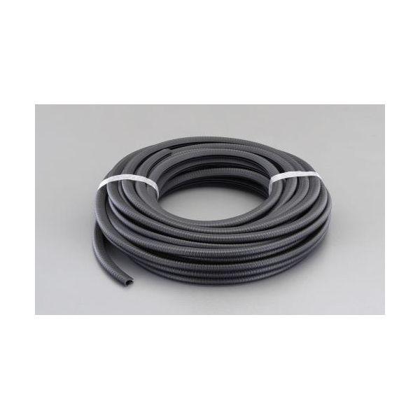【個人宅配送不可】 エスコEA997XX-610A 直送 代引不可・他メーカー同梱不可 6.0-8.0mm/10m エッジプロテクター PVC製 EA997XX610A