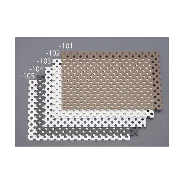 【個人宅配送不可】EA440HA-163 直送 代引不可・他メーカー同梱不可 910x1820x3.0mm パンチングアルミ複合板 ホワイト EA440HA163