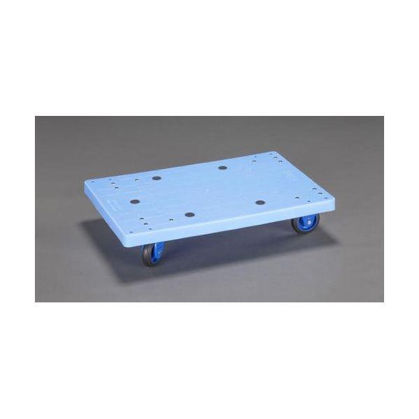 【個人宅配送不可】 エスコEA520AC-21A 直送 代引不可・他メーカー同梱不可 710x455mm/150kg ドーリー EA520AC21A