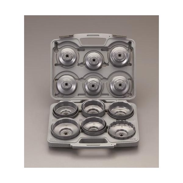 【個人宅配送不可】EA604AP 直送 代引不可・他メーカー同梱不可 17個組 カップ型オイルフィルターレンチセット