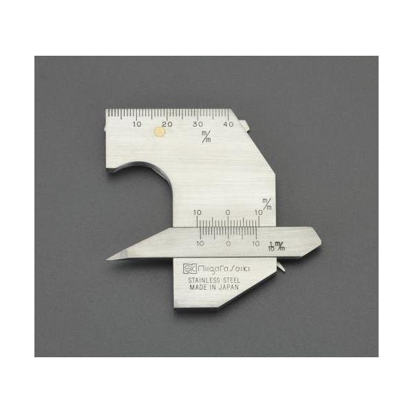 【個人宅配送不可】EA719K-20 直送 代引不可・他メーカー同梱不可 溶接ゲージ ステンレス製 EA719K20