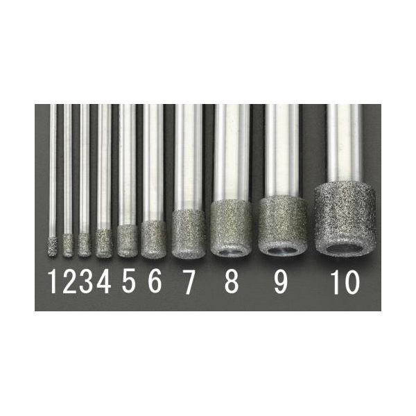 【個人宅配送不可】EA819DY-9 直送 代引不可・他メーカー同梱不可 12x12.0x100mm ダイヤモンドバー 10mm軸 EA819DY9