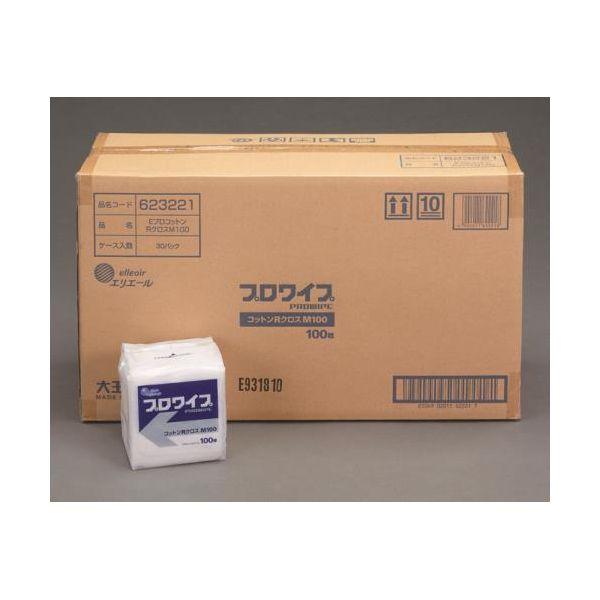 【個人宅配送不可】 エスコEA929AE-52B 直送 代引不可・他メーカー同梱不可 250x250mm 工業用ワイパー 30パック EA929AE52B