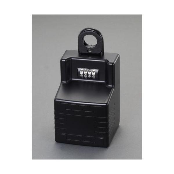 【個人宅配送不可】EA983ZA-15 直送 代引不可・他メーカー同梱不可 95x 90x150mm キーボックス 大容量/ダイヤル式 EA983ZA15